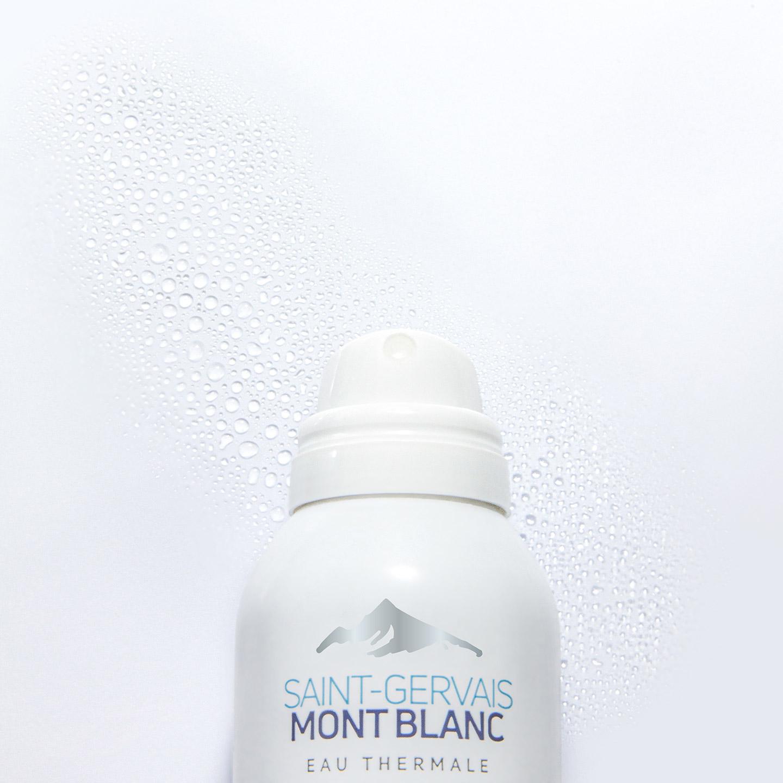 Texture Eau Thermale du Mont Blanc