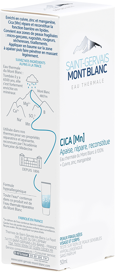 Crème réparatrice Cica [Mn]