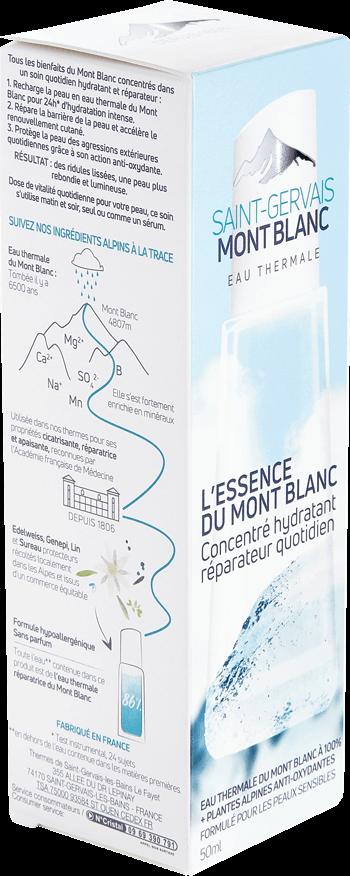 L'essence du Mont Blanc