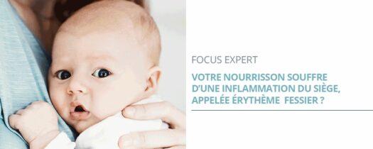 Érythème fessier du bébé : les bons réflexes à adopter