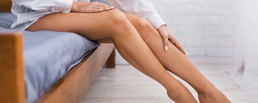 Cicatrices sur les jambes: comment les atténuer?